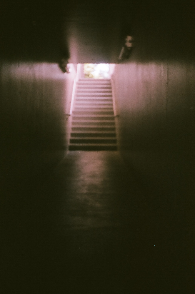 His Cross Lights the Tunnel