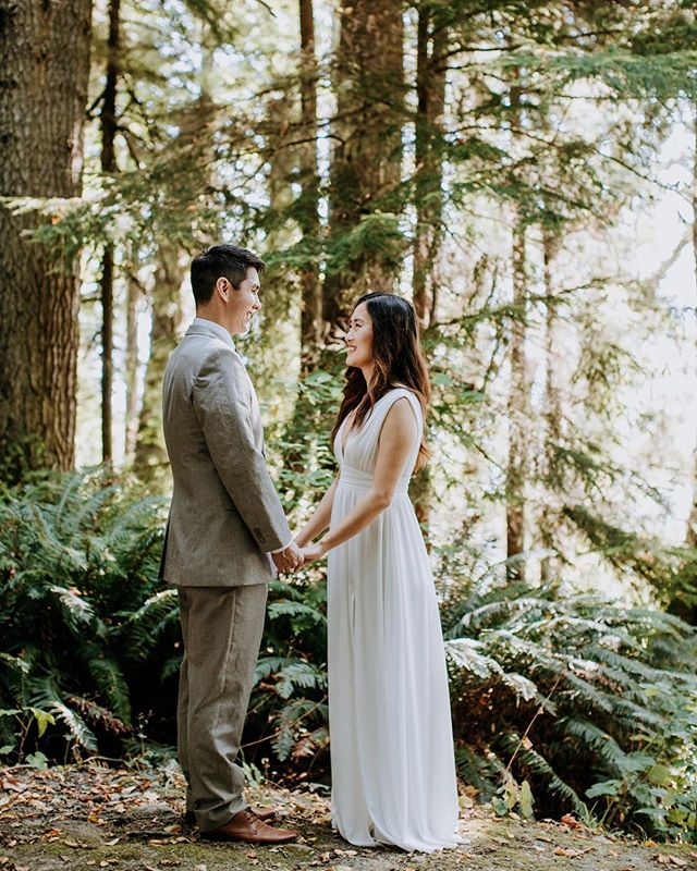 Elope with me in the woods by the sea 🌲 #elopement #elopementwedding #elopementphotographer #vancouverislandelopement #yyjweddings #intimatwedding #rockymountainbride #westcoast #beautifulbc #heywildweddings #adventerouslovestories #westcoastelopement #yyjweddingphotographer #pnwwedding #pnw #sookebc