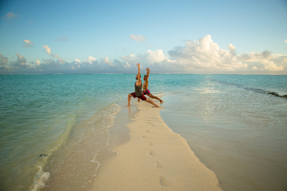 Tropical Island Yoga Vincent Taane