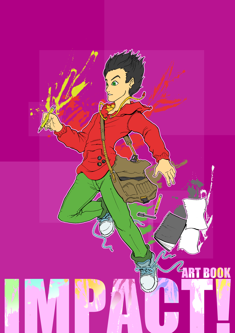 IMPACT! ART BOOK