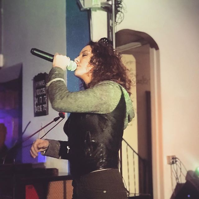 #DestinyJay 11.21.18 @ #HALOLive  She is a powerful voice in Local HipHop.. looking forward to hearing her again