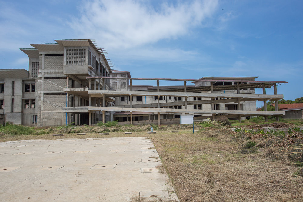 CCBRT Maternity & Newborn Hospital, set to open in early 2019. Photo credit: Sala Lewis