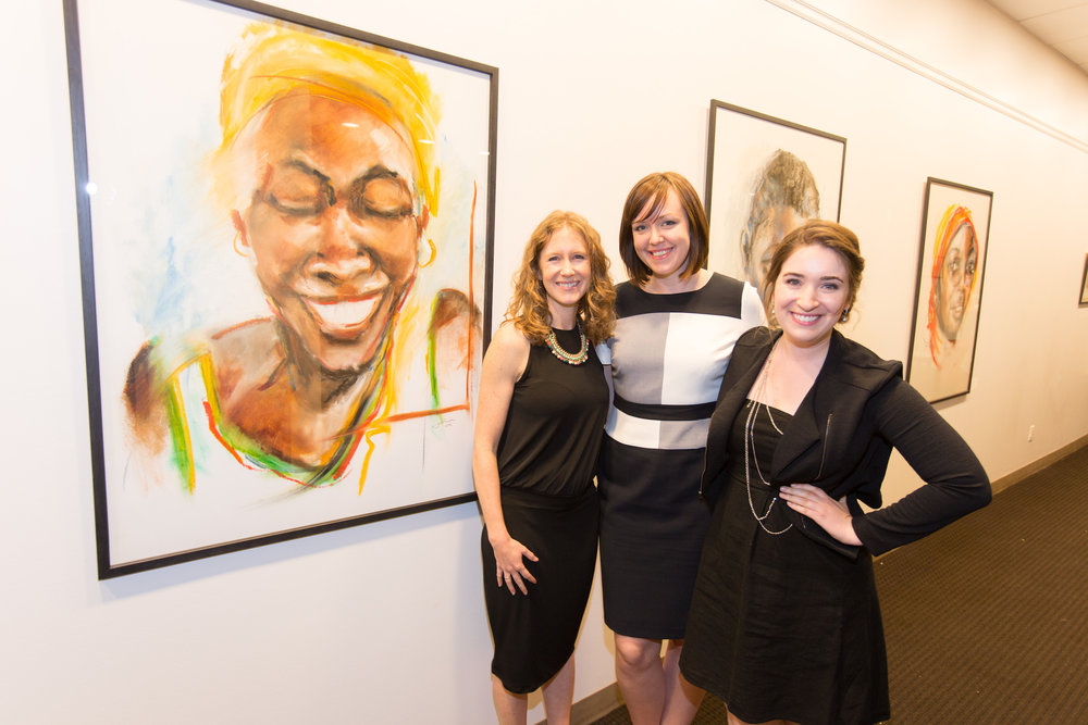 The Kupona Foundation team (left to right) Abbey, Alex and Sami. Photo credit: Todd Plitt
