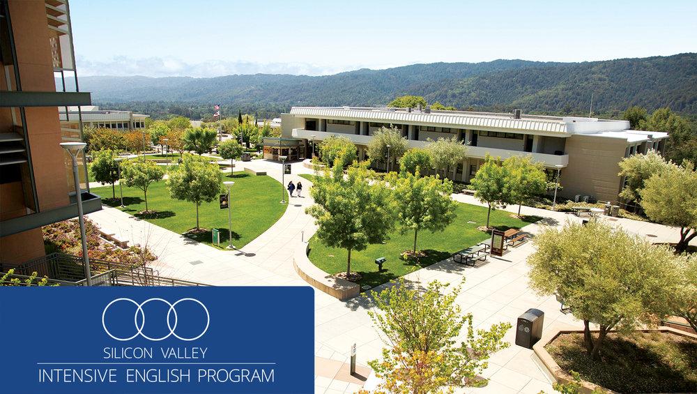 Cañada College campus, Redwood City, CA - San Francisco Bay Area