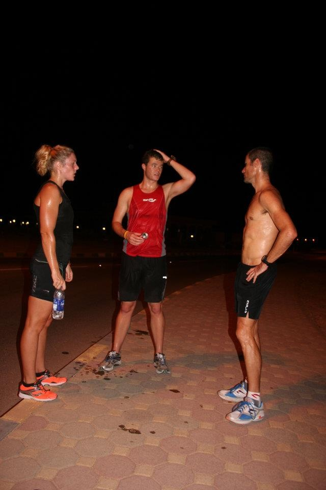Receiving feedback from one of the greatest triathletes; Craig Alexander.