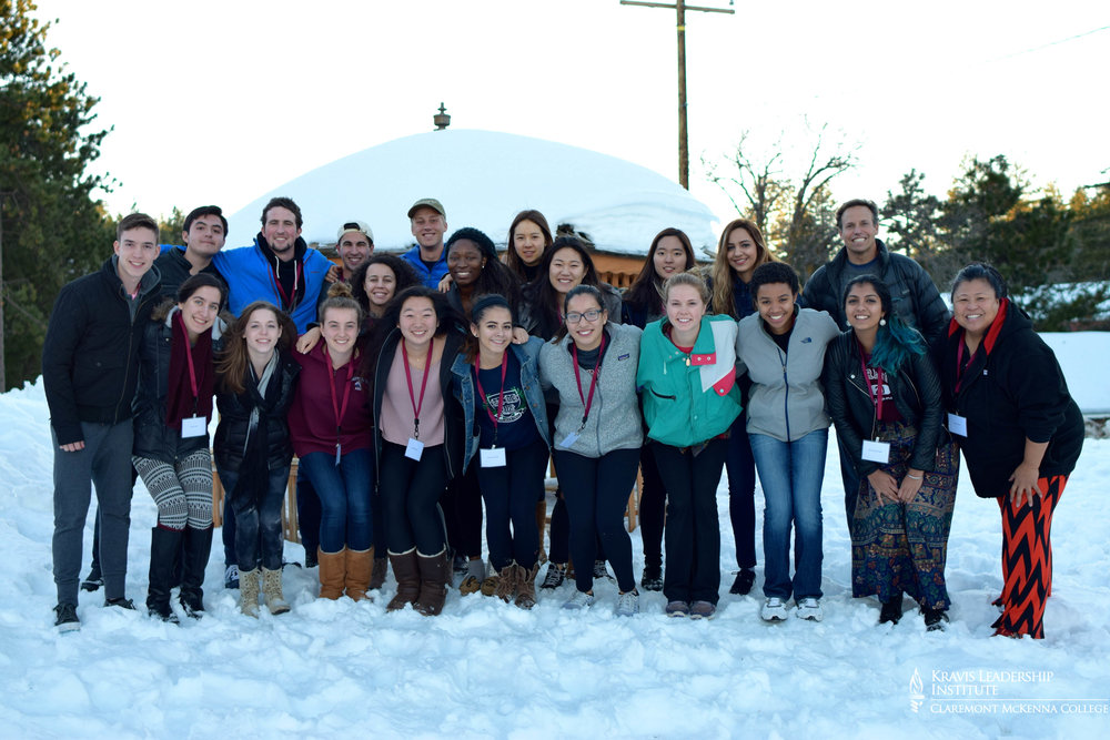 GROUP PHOTO:of the team of students and staff that participated in the retreat.