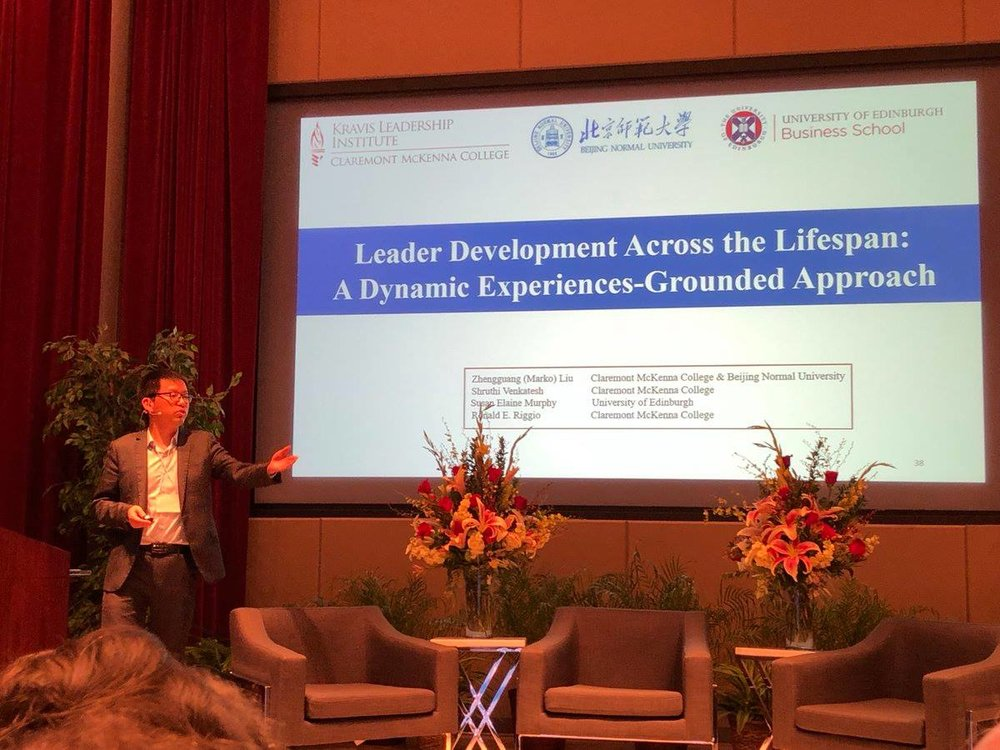 Marko presenting at the 27th annual Kravis de Roulet Conference