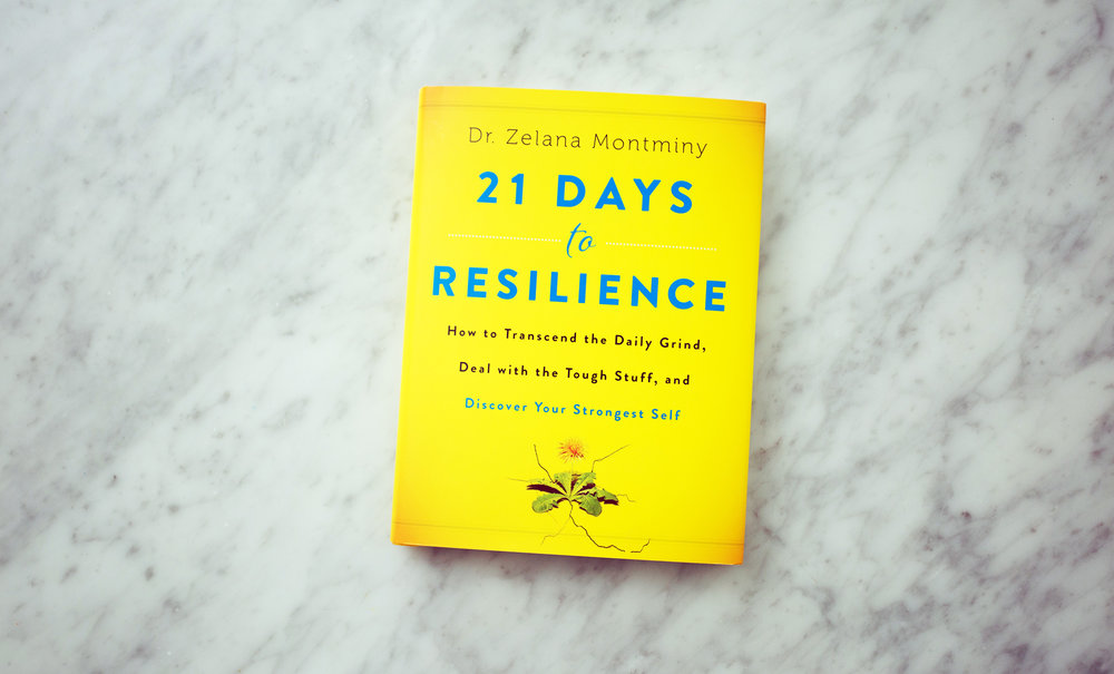 """If you want to know my secret to success, check out 21 Days to Resilience #SMGbookclub!""-Sarah Michelle Gellar -"