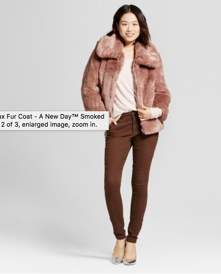 Target - Faux Fur Coat