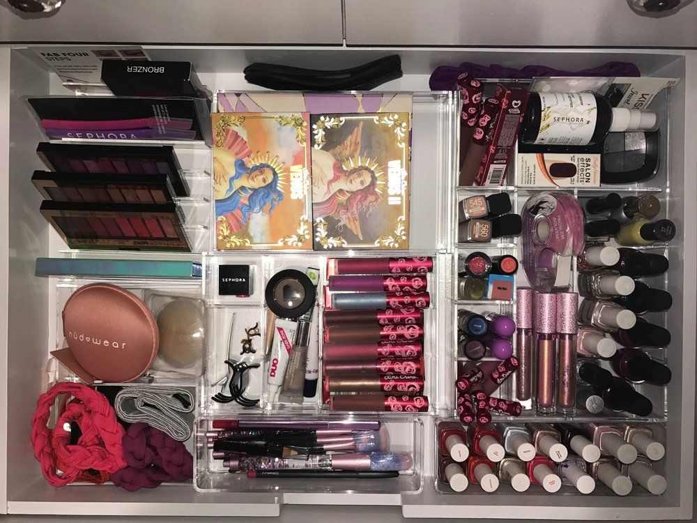A Look Inside Gabrielle's Makeup drawer