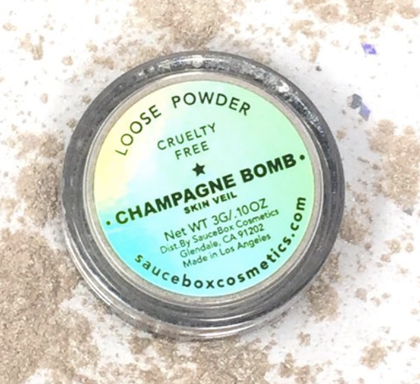 Highlighter: Saucebox Champagne Bomb