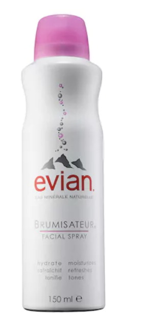 Evian Brumisateur Natural Mineral Water Facial Spray