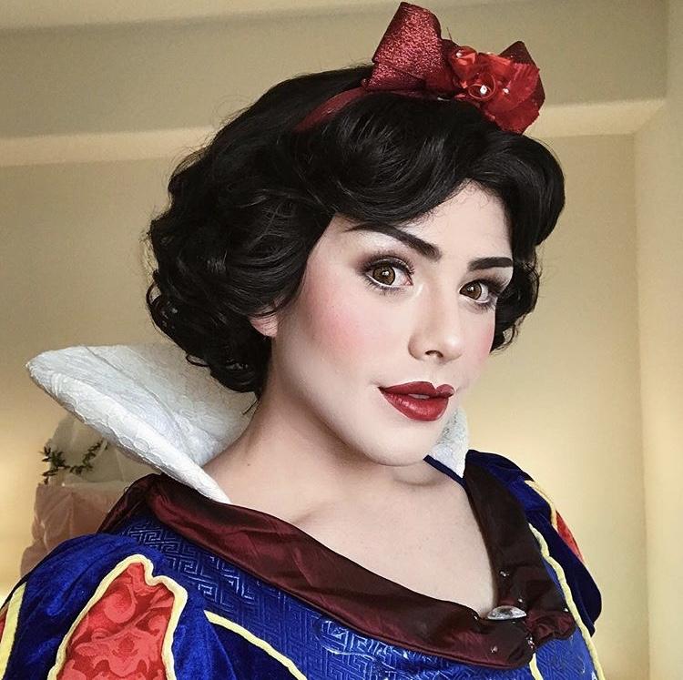 Richard as Snow White