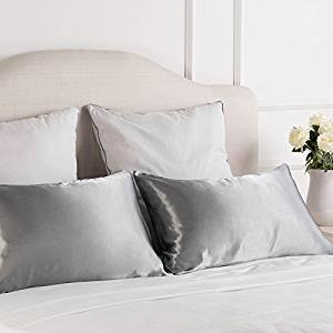 Vegan satin pillowcases