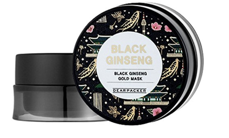DearPacker Black Ginseng Gold Mask