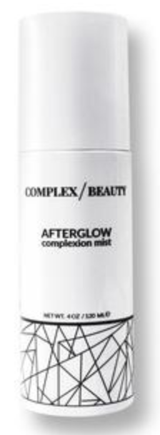 Complex beauty afterglow complexion mist: CODE NATCH!
