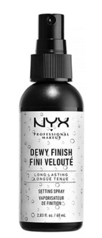 NYX dewy skin spray