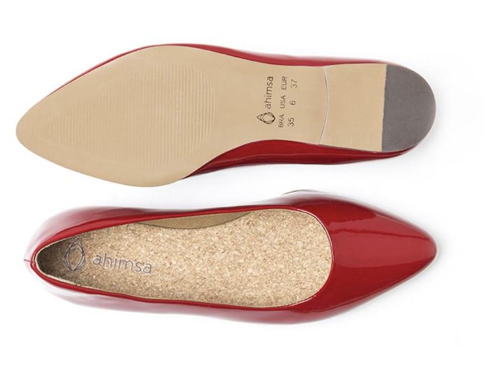 My stinky flats- Ahimsa shoes