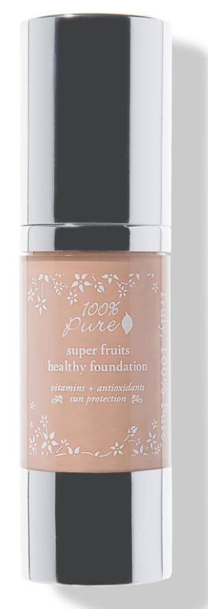 100% pure super fruit foundation