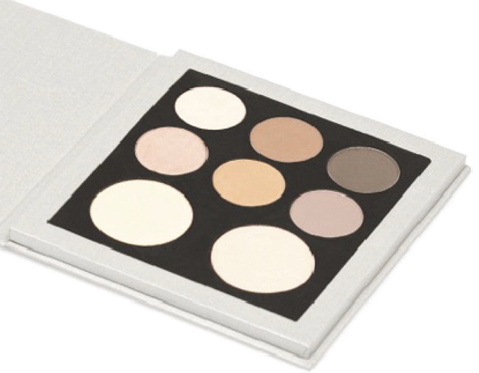 Eleve Cosmetics Little Black Dress palette