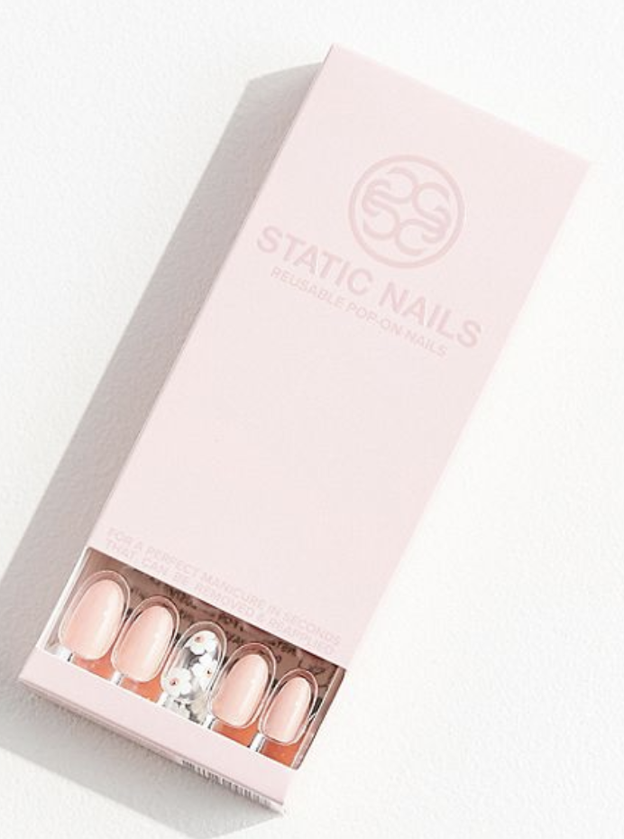 Static Nails All in One Pop on Manicure