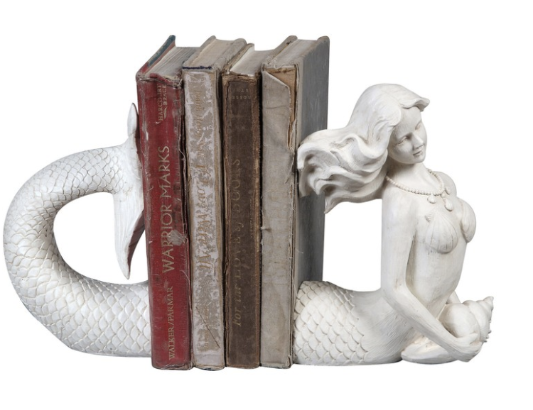 Mermaid Bookends - Speaking of Nordstrom, they have a big sale going on! If you need gifts for summer weddings/showers, the home section has got some deals. This mermaid book-end set makes me want to actually read books!