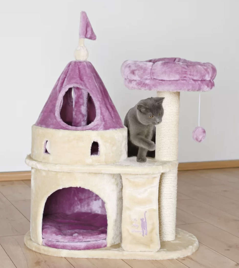 Kitty Castle - Another site I'm obsessed with is Wayfair. Since I am addicted to throw pillows and area rugs, I am constantly hunting for cute stuff here (It's all home-related wares.) Check out their sale this weekend, cause they have a TON of stuff on clearance. Here is a kitty castle that your kitty deserves.