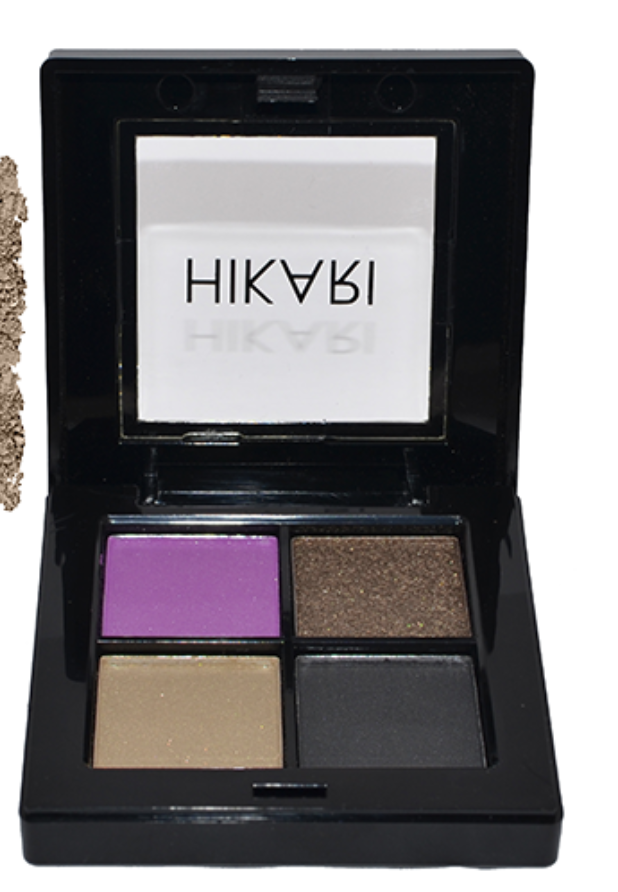 Hikari cosmetics Eyeshadow quad in Zoe