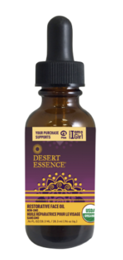 Desert Essence restorative face oil