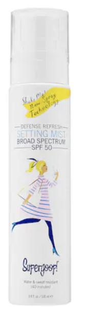Supergoop setting spray