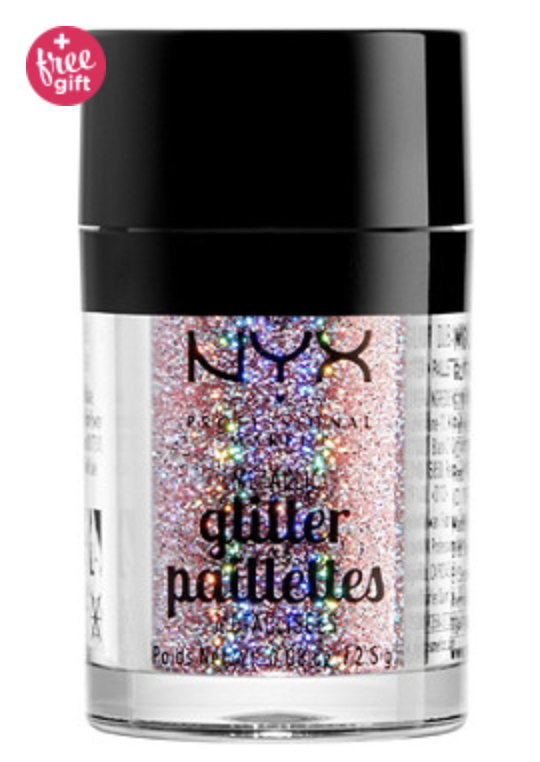 NYX loose glitters