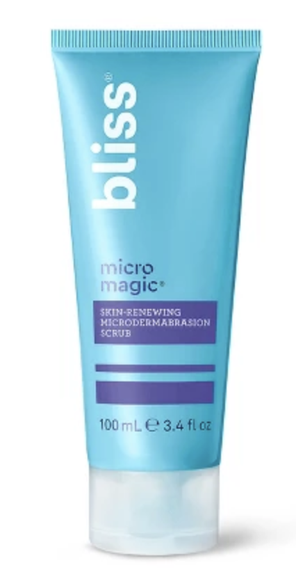 Bliss micro magic scrub