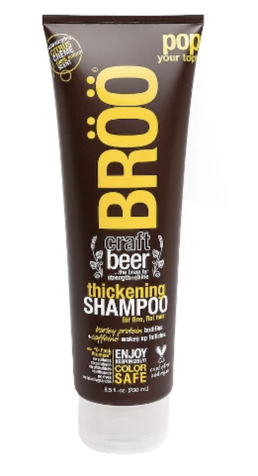 BROO beer based haircare