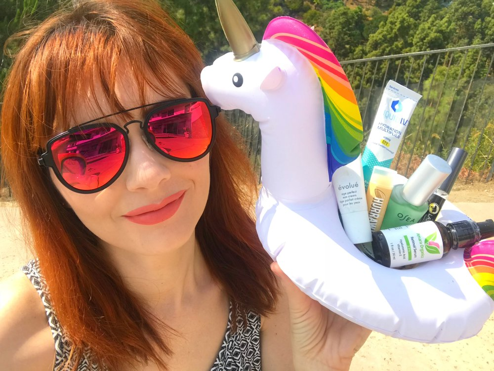 Jackie looking kewt with her favorite products for the week of August 13, 2018.