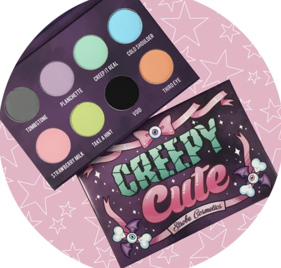 Strobe cosmetics  Creepy cute palette
