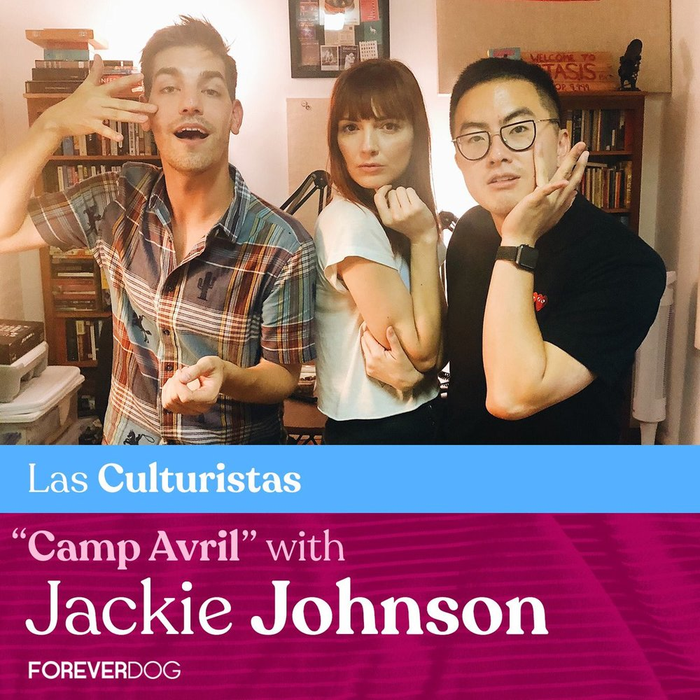 Las Culturistas - Click to hear Jackie on Las Culturistas.