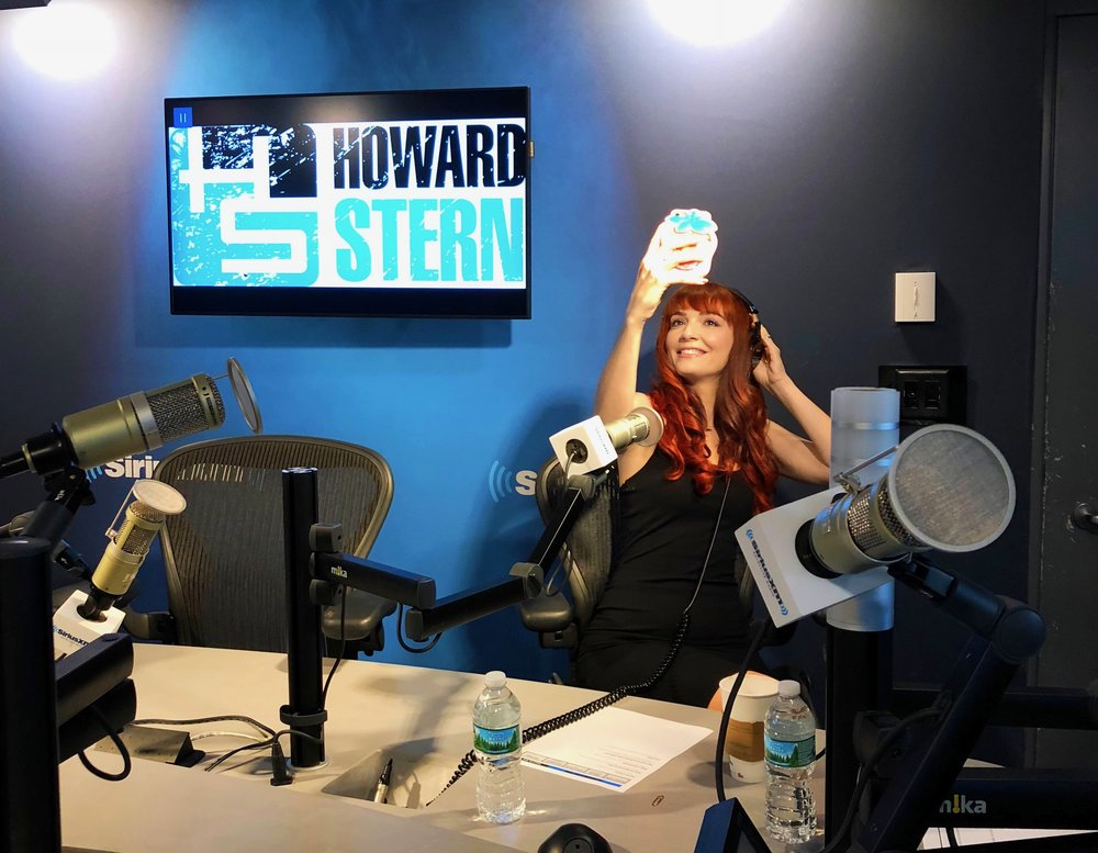 Hear Jackie on the Howard Stern Wrap Up Show. - If you're a Sirius XM subscriber with the Howard Stern package, go to Howard: On Demand: Wrap Up Show: Jackie Johnson.