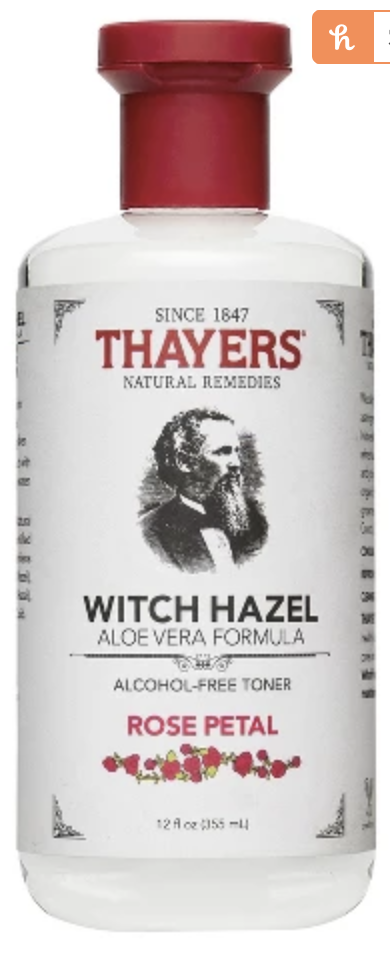 Thayers witch hazel rose