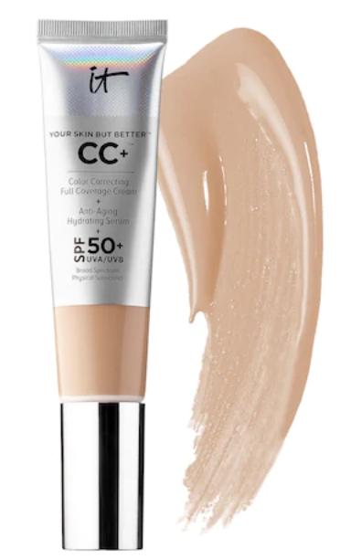It cosmetics CC cream SPF 50