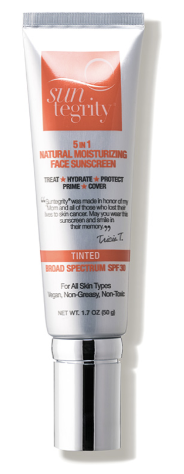Suntegrity 5 in 1 Natural moisturizer with Sunscreen