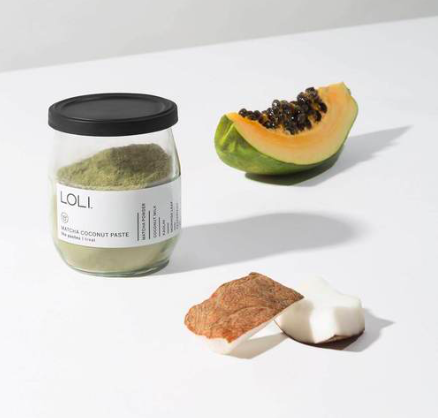 LOLI Matcha Coconut Paste