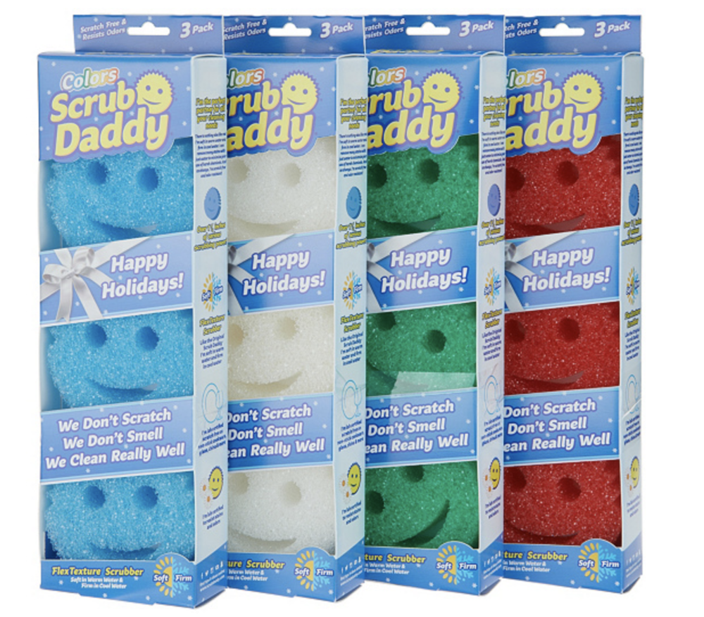 Scrub Daddy 12 Multi-Color Gift Pack Sponges