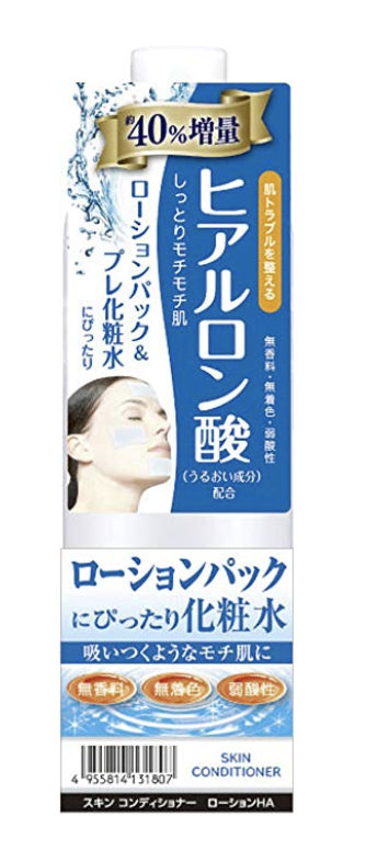 Naris Up Japanese Hyaluronic Skin Conditioner (Cannot confirm if this is cruelty-free!)