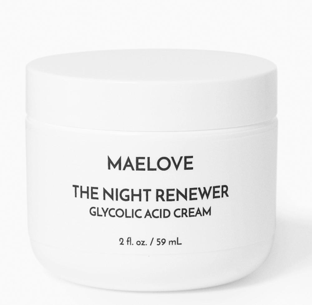Maelove Night Renewer glycolic cream