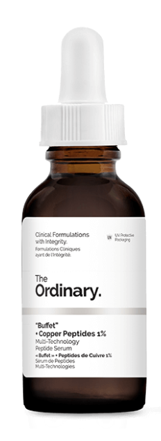 The ordinary Buffet + copper peptides