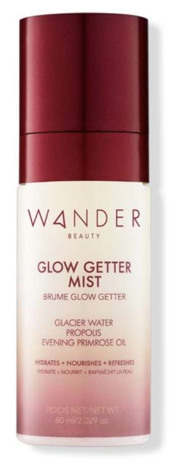 Glow getter mist