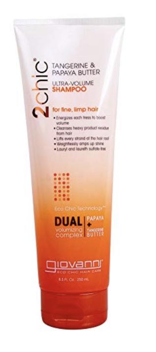 Giovanni Cosmetics 2chic Ultra-Volume Shampoo, Tangerine
