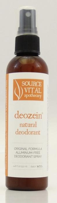 Source Vital Deozein natural deodorant spray