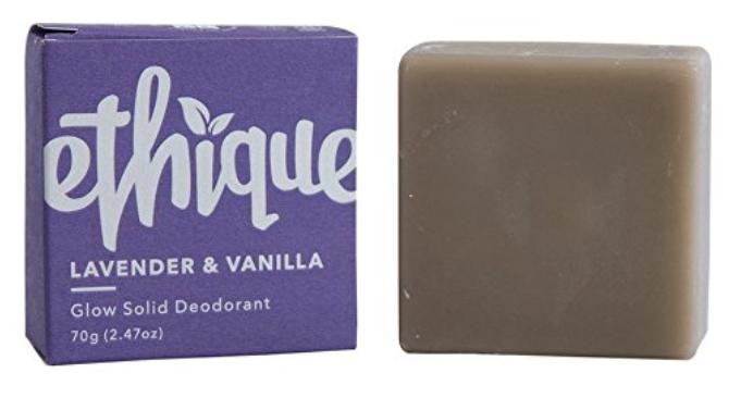 Ethique solid deodorant