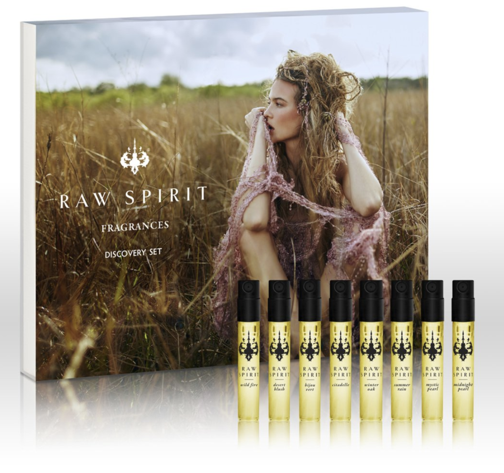 Raw Spirit Fragrances Discovery Set